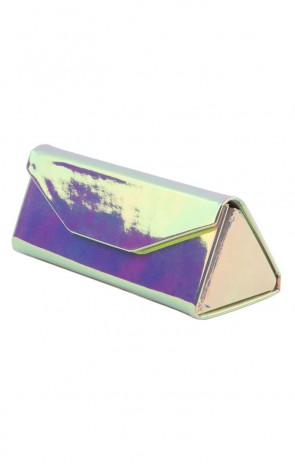Iridescent Eyewear Accessory - Tri Fold Case