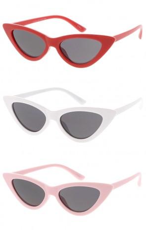 Kids 1990's Cat Eye Wholesale Sunglasses