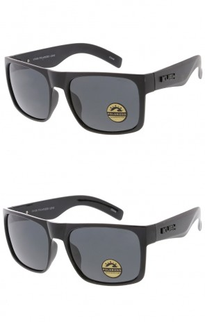 KUSH Brand Flat Top Polarized Lens Wholesale Sunglasses