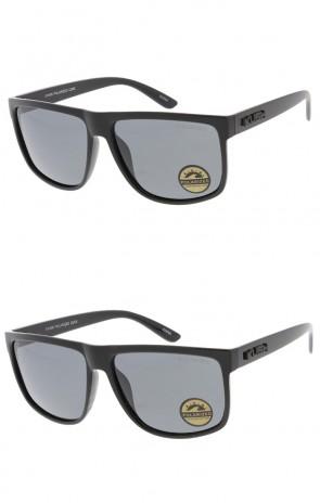 KUSH - Clean Active Sportswear Sunglasses -  Black Set (Polarized)