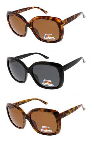 Womens Oversized Bold Frame Modern Fashion Wholesale Sunglasses