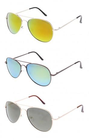 Polarized Metal Frame Revo Lens Aviator Wholesale Sunglasses