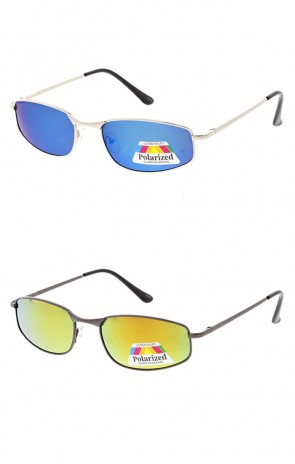 Polarized Metal Sport Mirror Lens Wholesale Sunglasses