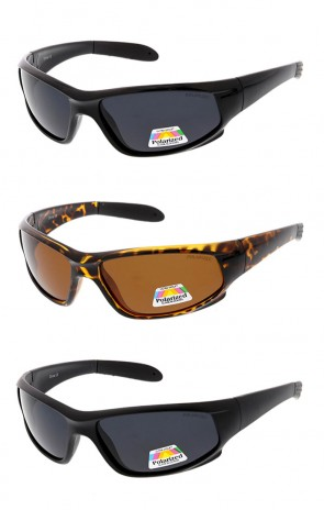 Polarized Sport Frame Wholesale Sunglasses