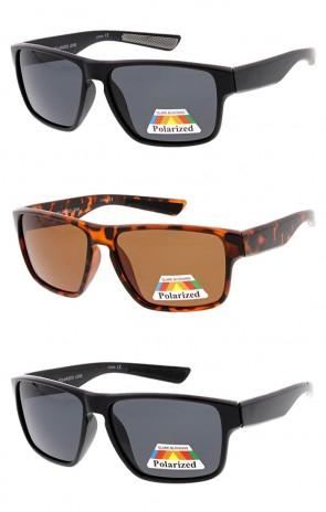 Mens Polarized Action Sports Rectangle Wholesale Sunglasses