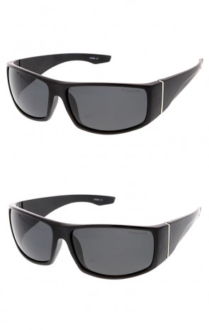 Polarized Square Wrap Around Sports Wholesale Sunglasss