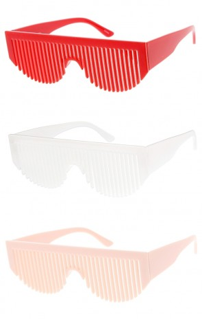 Unisex Novelty Party Comb Wholesale Sunglasses