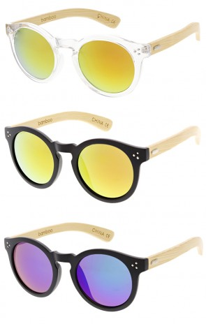 Wholesale - Wood Frame Sunglasses