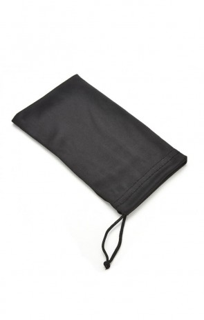 Basic Soft Cleaning Microfiber Pouch (All Black)