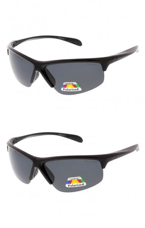 Polarized Half Frame Action Sports Wholesale Sunglasses