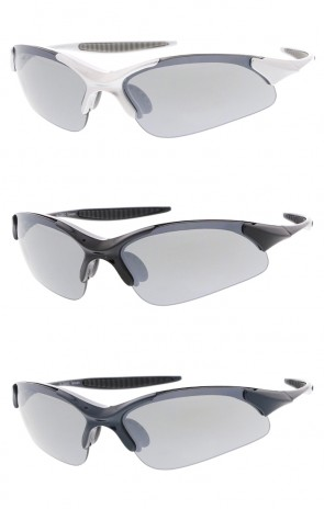 Wrap TR-90 Sports Wholesale Sunglasses Neutral Colored Lens