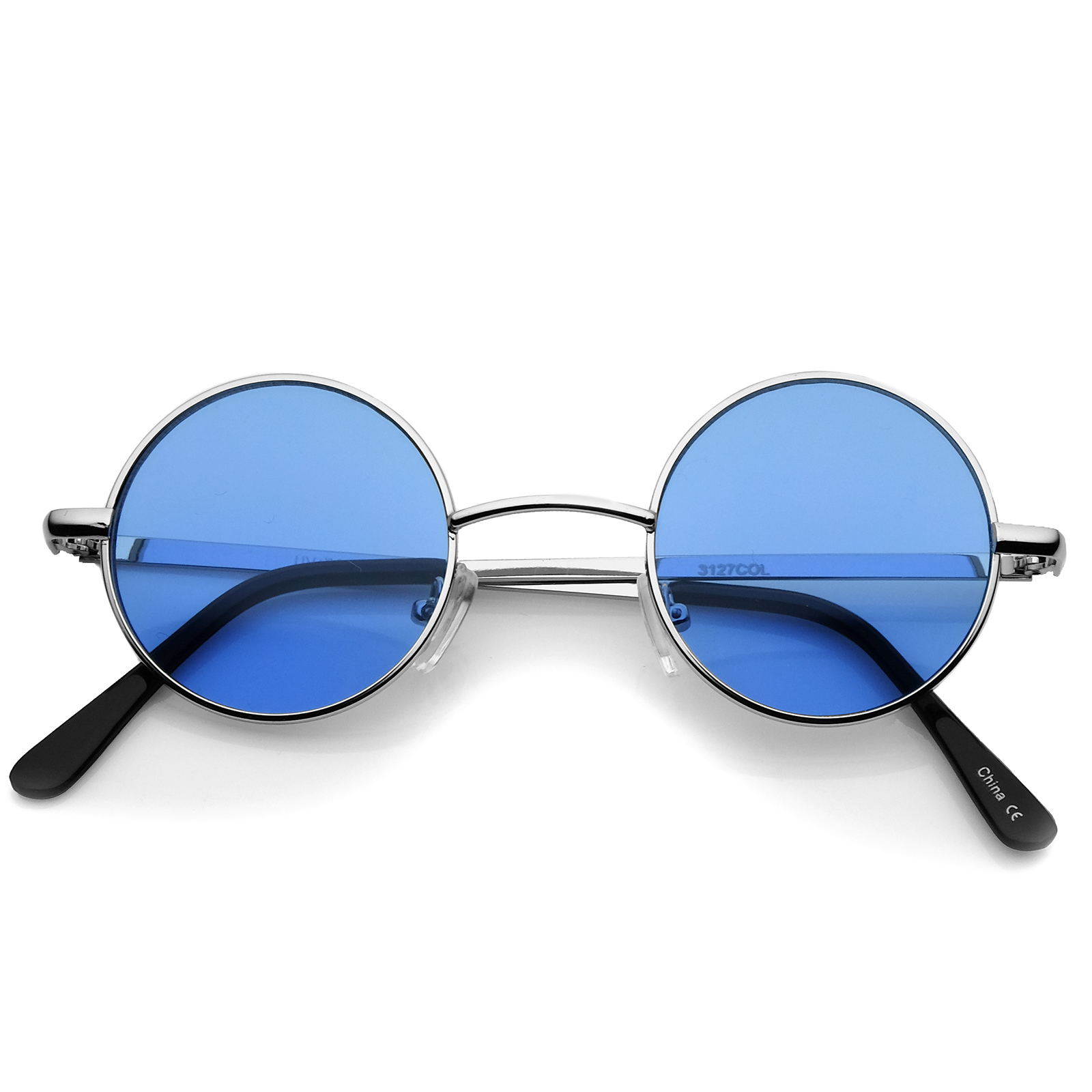 Sunglasses with Round Colored Lenses