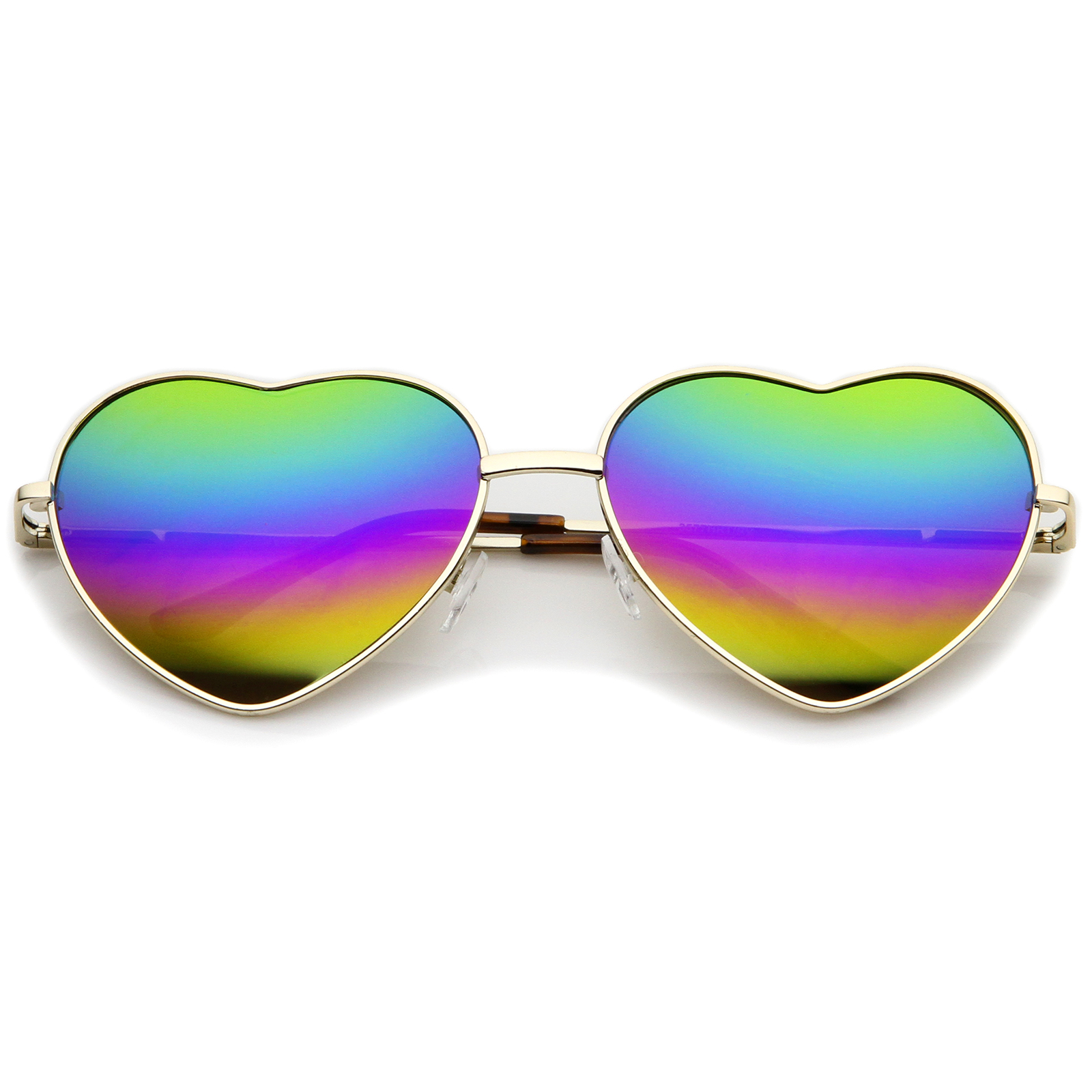 Sunglasses with Colored Frame