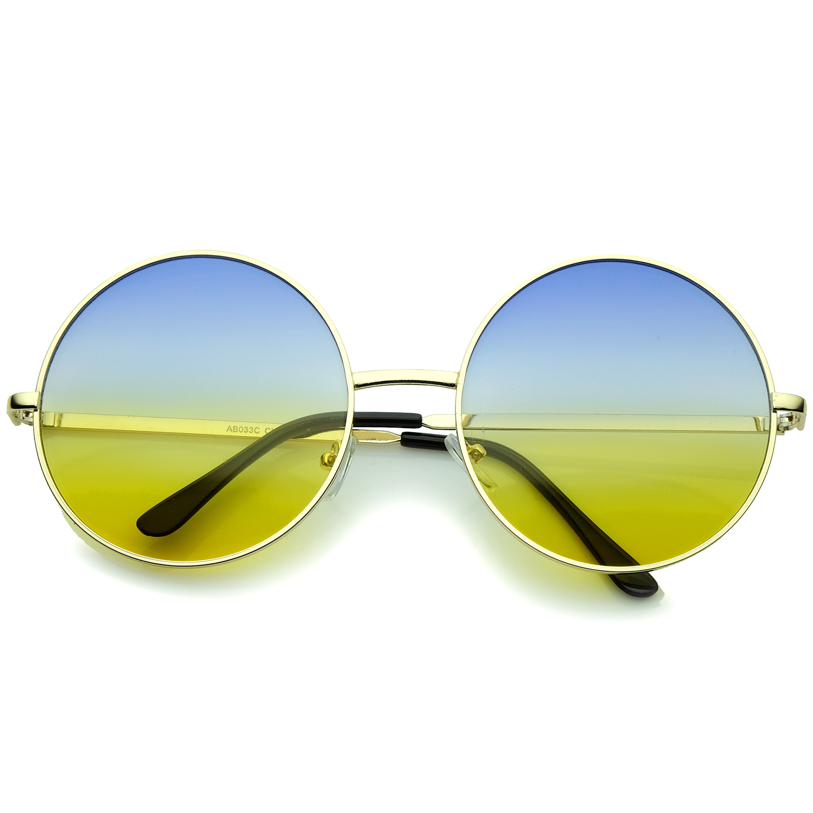 sunglassLA-Super-Oversize-Slim-Temple-Colorful-Gradient-Lens-Round-Sunglasses