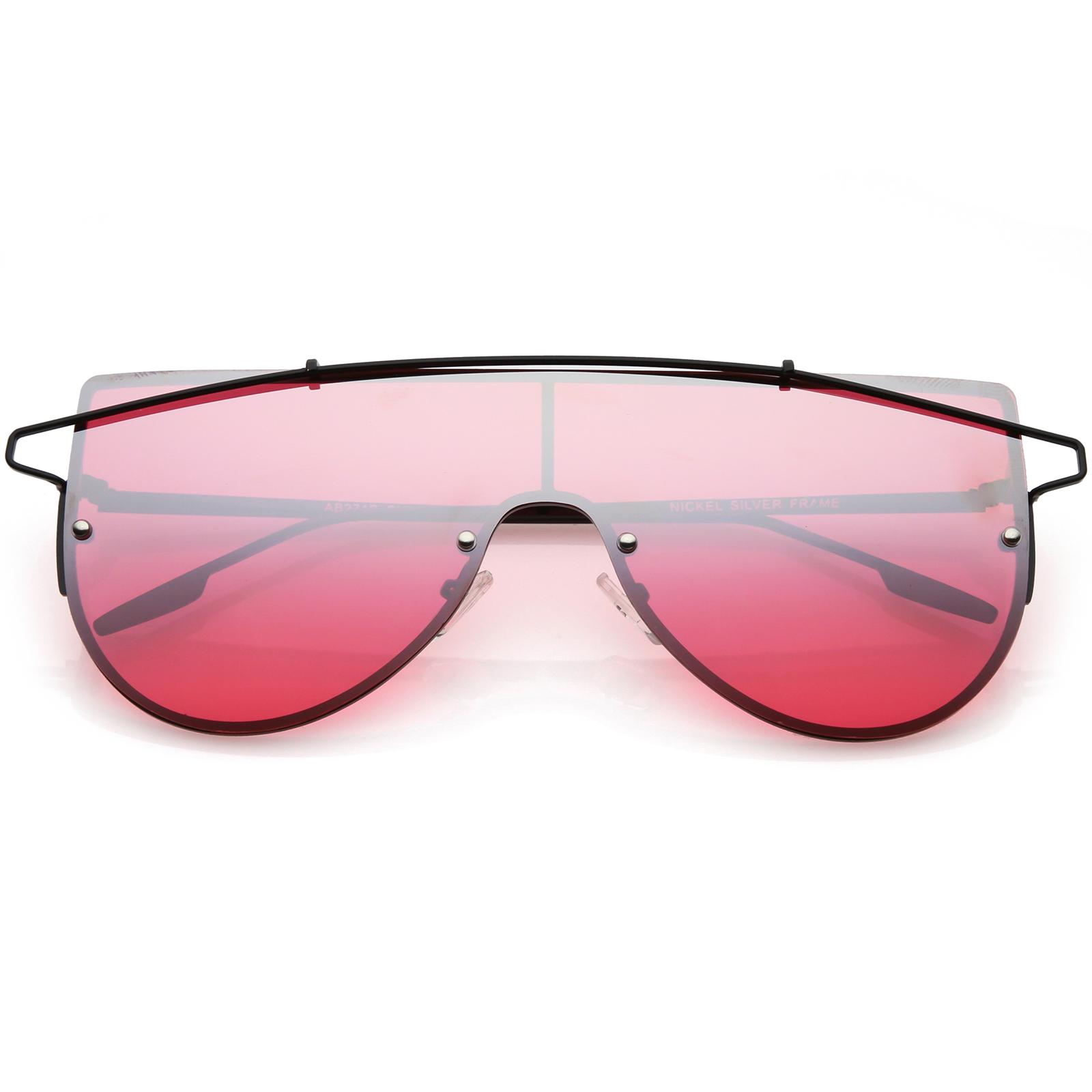 sunglass.la futuristas Montura Al Aire Gafas de sol metal ...